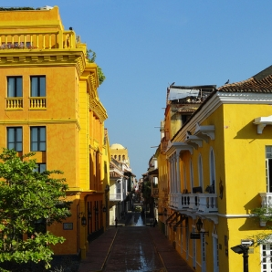 Kolumbia/Cartagena-Walled-City